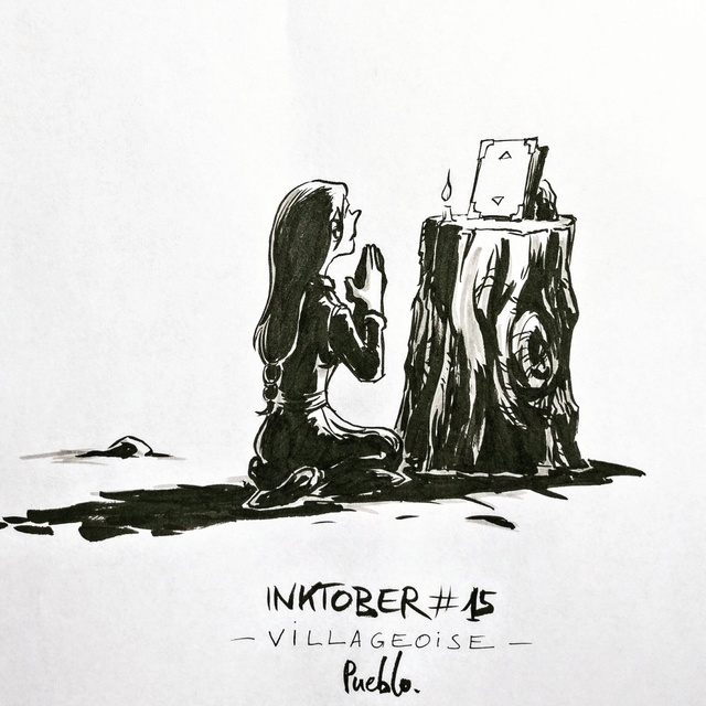 [Terminé] Inktober 2016 - Page 7 Inktob13