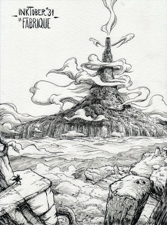 [Terminé] Inktober 2016 - Page 7 Inktob29