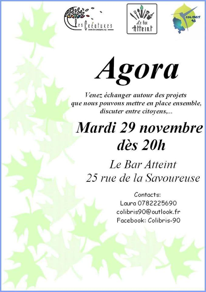 Colibris 90 Agora au Bar Atteint 29 Novembre 2016 Agora_10