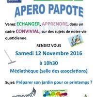 Apéro papote le samedi 12 novembre 10h30 à la médiathèque de Danjoutin Apero_10