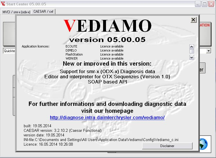 Free activation for Vediamo 05 00 05  2uhok110