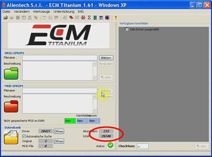 ECM TITANIUM 1.61 with 26000+ Driver Multi-language  Ecm-ti10