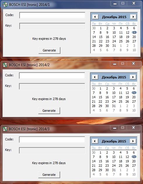 Bosch ESI 2014Q1 & 2014Q2 & 2014Q3 keygen Ieaezz10