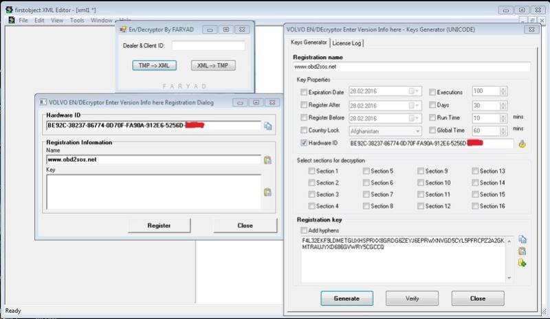 Volvo Encryptor - Decryptor, IS Editor, XML Editor Tools + Keygen  Volvo_10