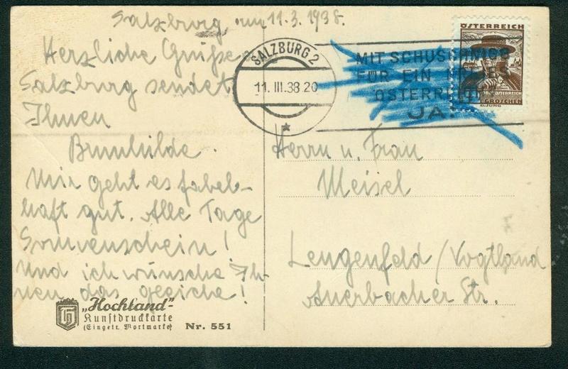 Österreich im III. Reich (Ostmark) Belege - Seite 9 Salzbu10