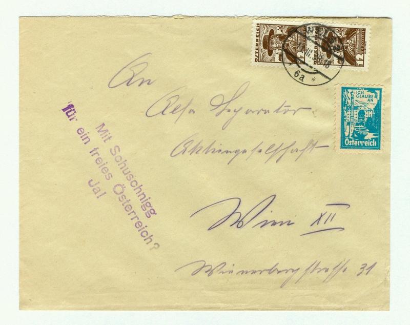 Österreich im III. Reich (Ostmark) Belege - Seite 9 Schusc13