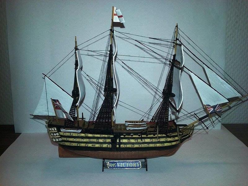 HMS Victory (Revell 1/450°) de Horatio 16558311