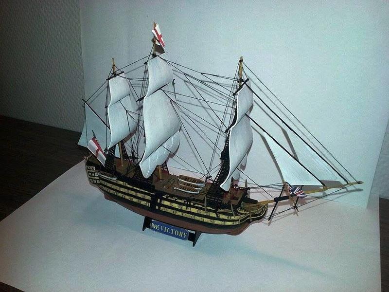 HMS Victory (Revell 1/450°) de Horatio 16558711