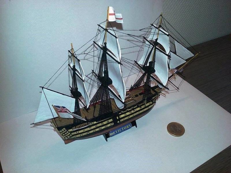 HMS Victory (Revell 1/450°) de Horatio 16650511