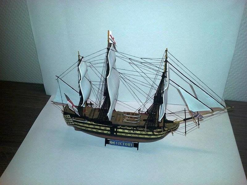 HMS Victory (Revell 1/450°) de Horatio 16651711