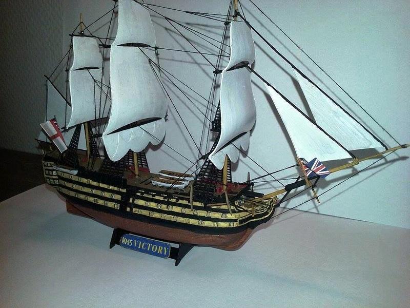 HMS Victory (Revell 1/450°) de Horatio 16652411