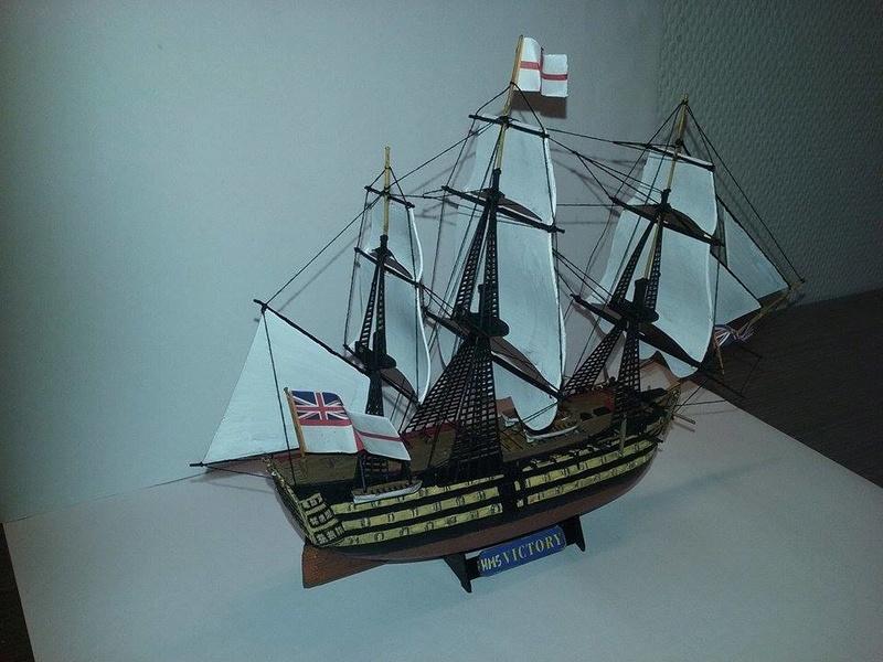 HMS Victory (Revell 1/450°) de Horatio 16652811