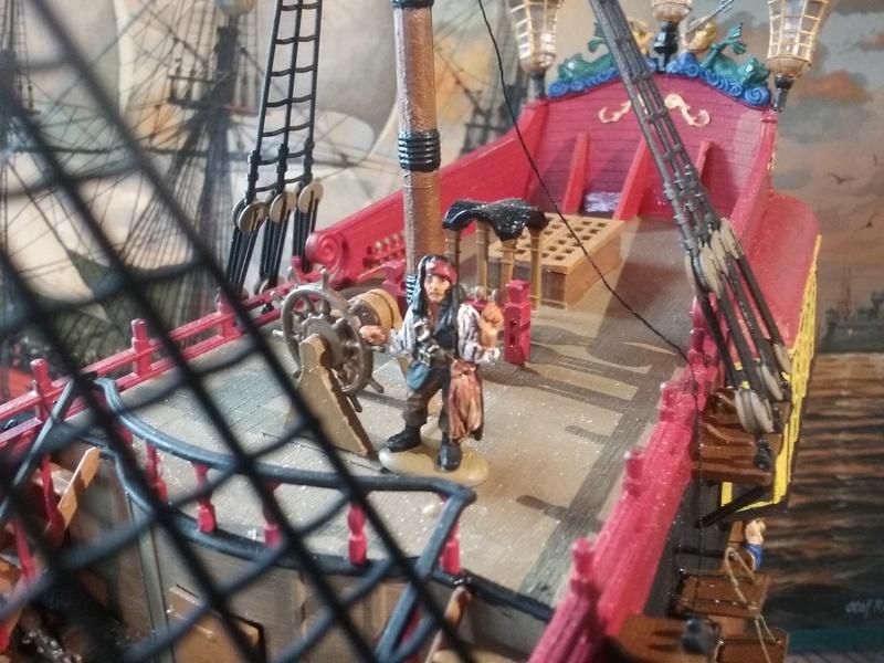 """Diorama """"Ile aux Pirates"""" 1/72 20161011"""