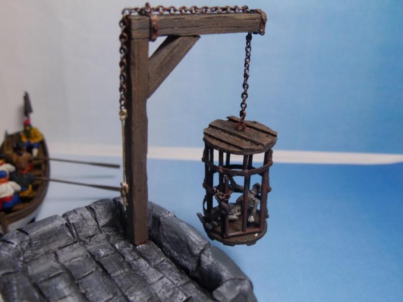 """Diorama """"Ile aux Pirates"""" 1/72 Imgp6310"""