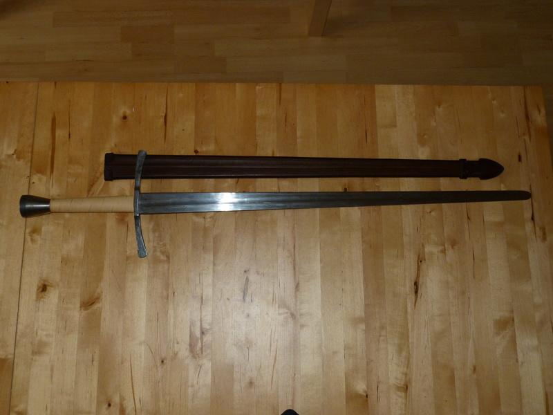 Epée et bonne année P1230610