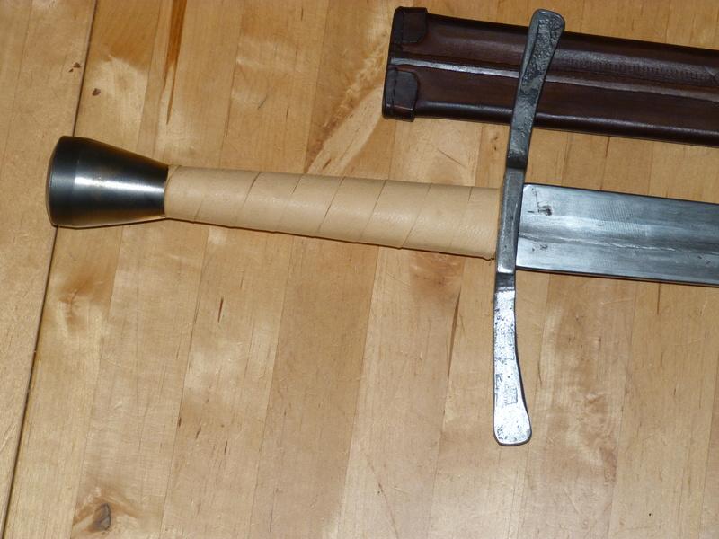 Epée et bonne année P1230611