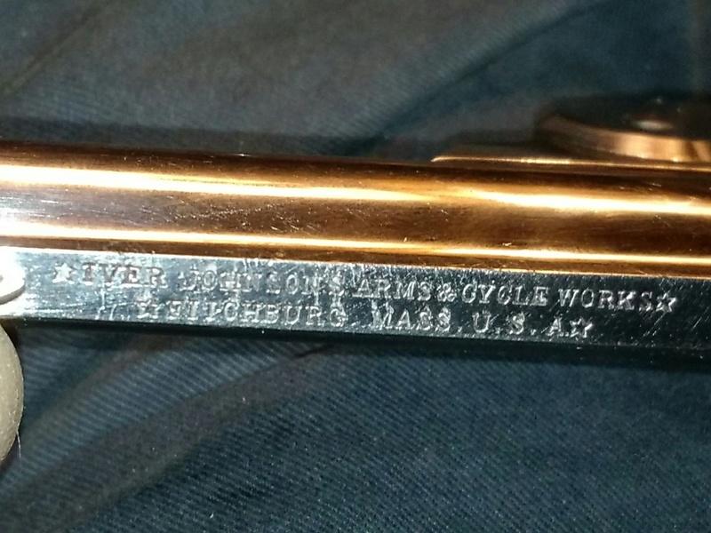 Révolver IVER & JOHNSON Cal 38 Smith & Wesson modèle 2 (catégorie D) 20161215