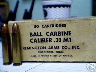 SIX FABRICANTS DES CARTOUCHES 30 M1 SUR SEPT  Boite_22