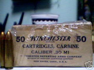 SIX FABRICANTS DES CARTOUCHES 30 M1 SUR SEPT  Boitew10