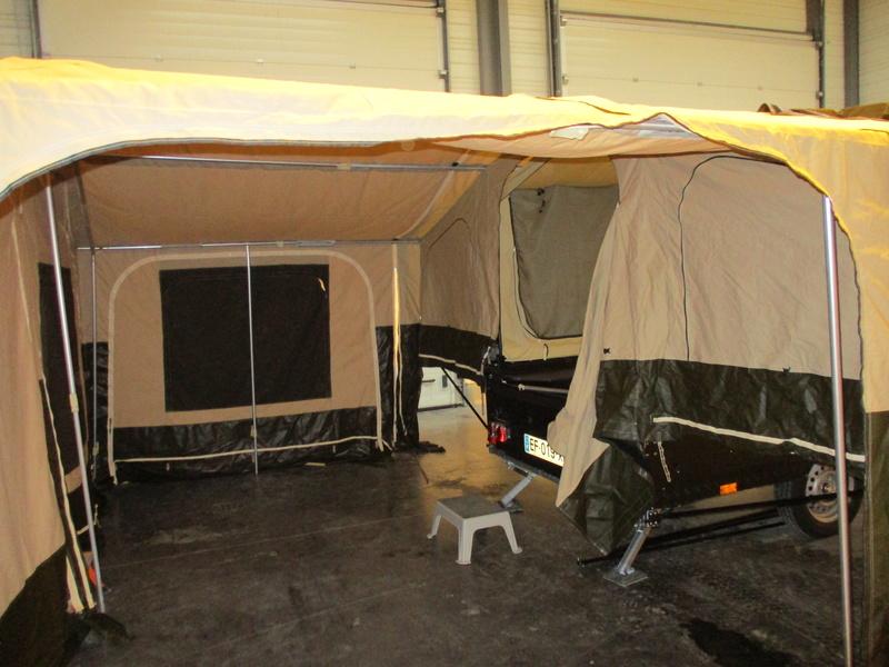 raclet - Caravane pliante RACLET Quickstop Xtrail Img_0311