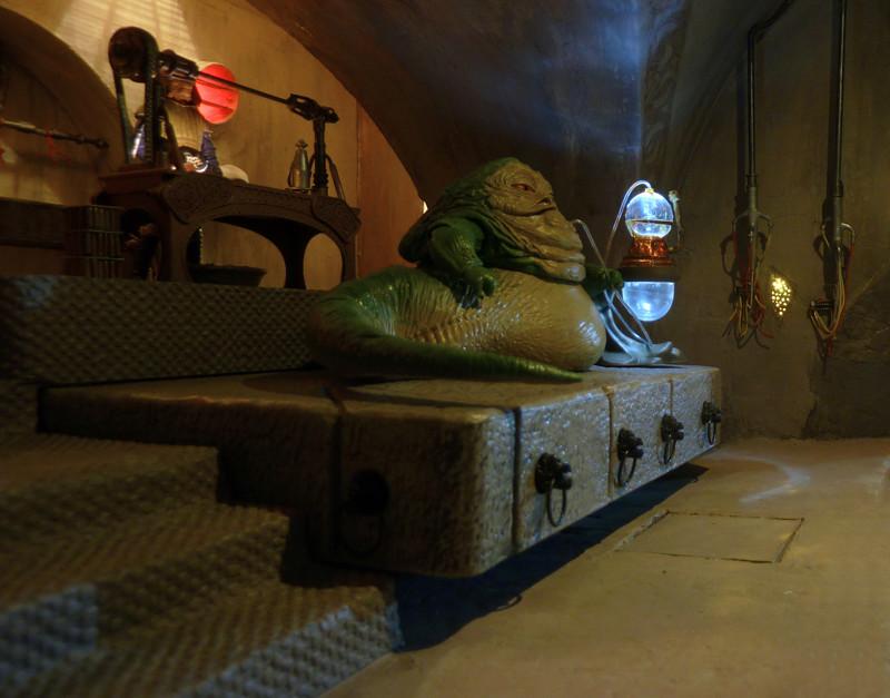 Diorama PALAIS DE JABBA Jabba_12
