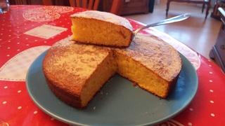 Gâteau au lait concentré sucré 20161115
