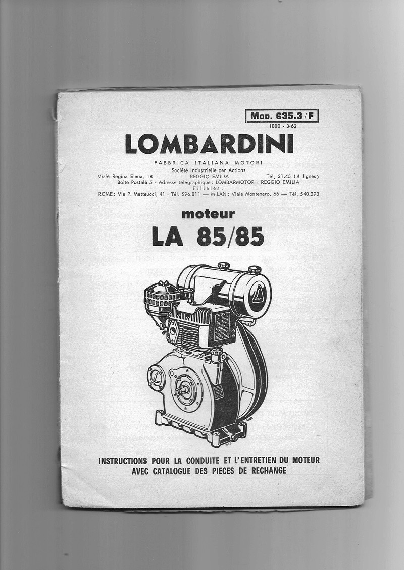 lombardini - HAKO me Tracasse 210