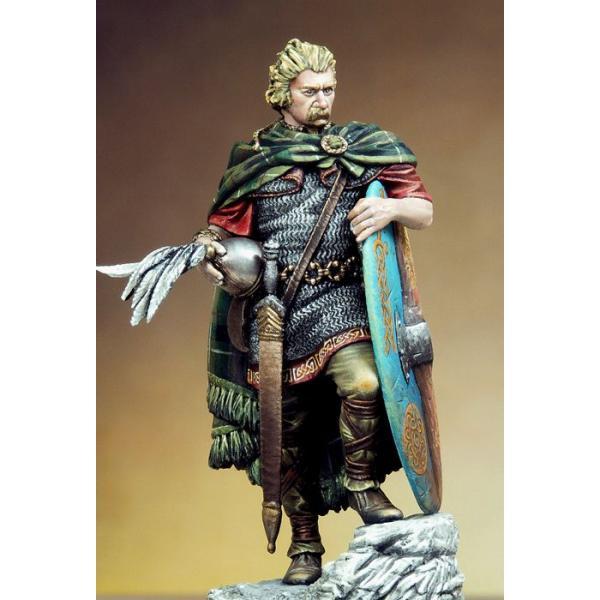 noble guerrier gaulois , 1er siècle 54mmpe10