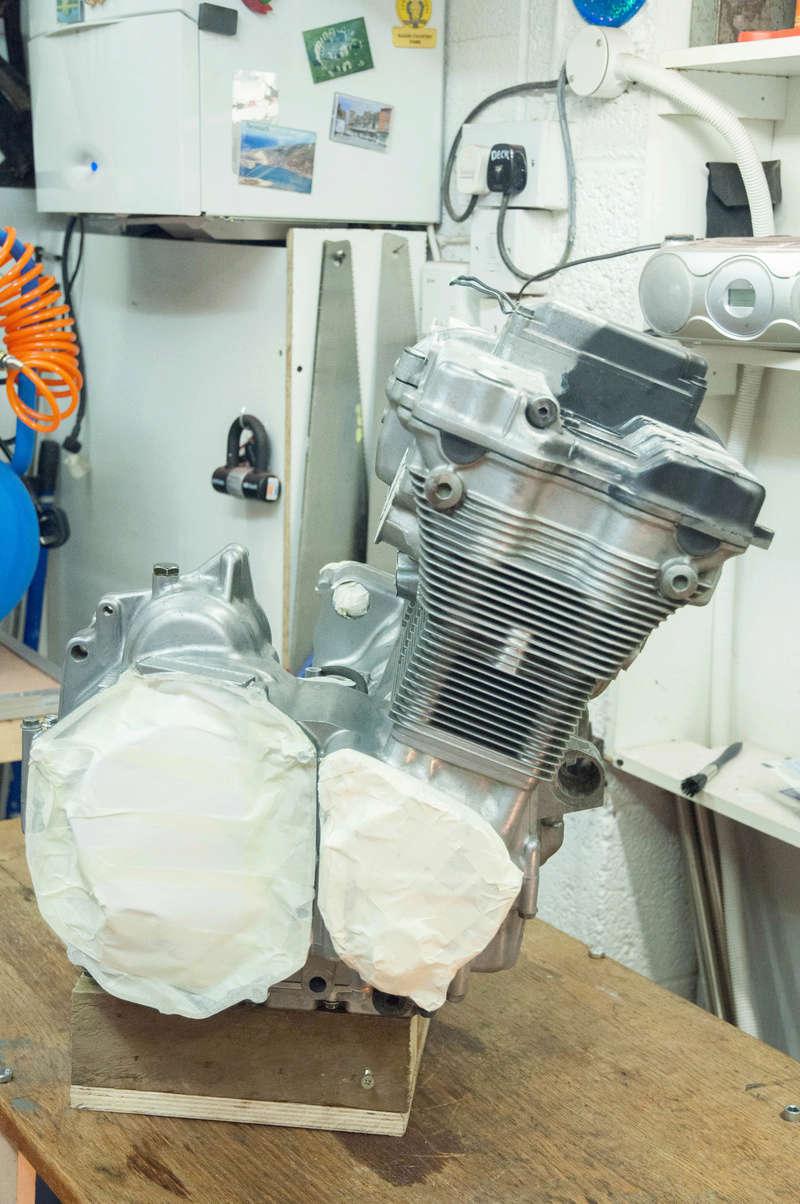 Suzuki Bandit n600 REbuild Progress.  Dsc_0017