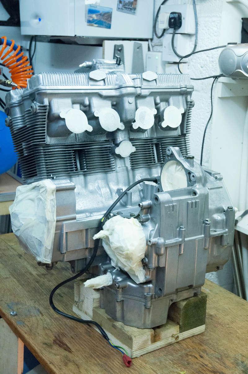Suzuki Bandit n600 REbuild Progress.  Dsc_0019