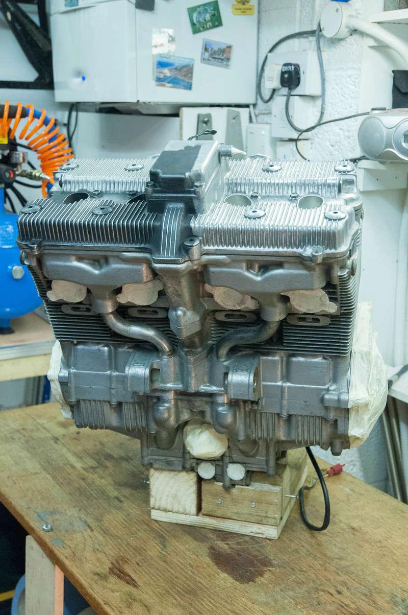 Suzuki Bandit n600 REbuild Progress.  Dsc_0020
