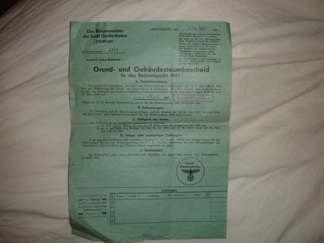 document allemand à identifier Dsc07713