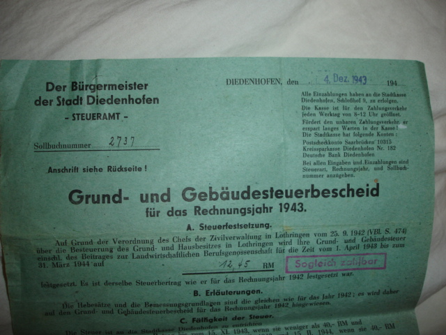 document allemand à identifier Dsc07714