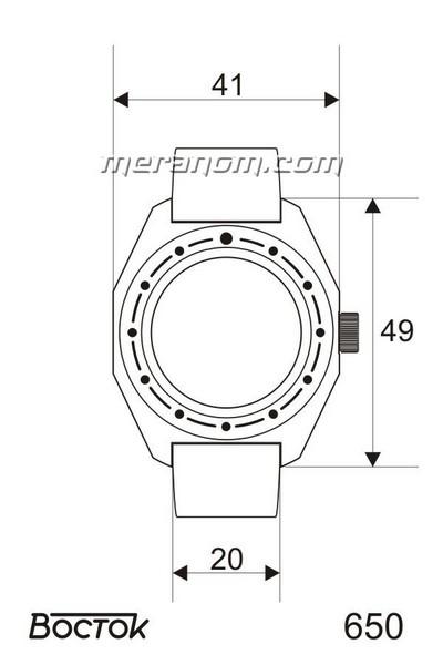 Amphibia - Dimensions des boitiers et entrecornes  65-cas10