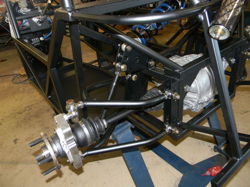 Step 5: Rear Differential and Axles Dscn2110
