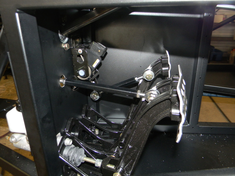 Step 4: Pedals, Brakes, Hydraulics Standa10