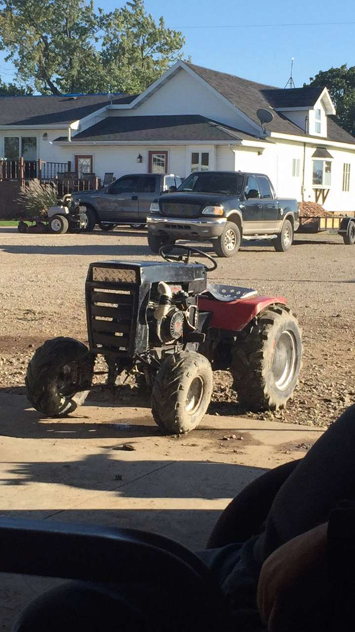Wheel horse competition mud mower 42710