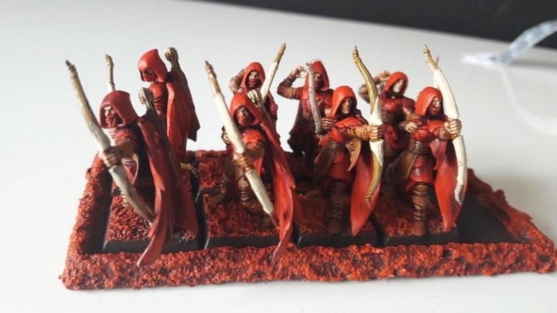 Présentation Peinture Elfes Sylvains Es110