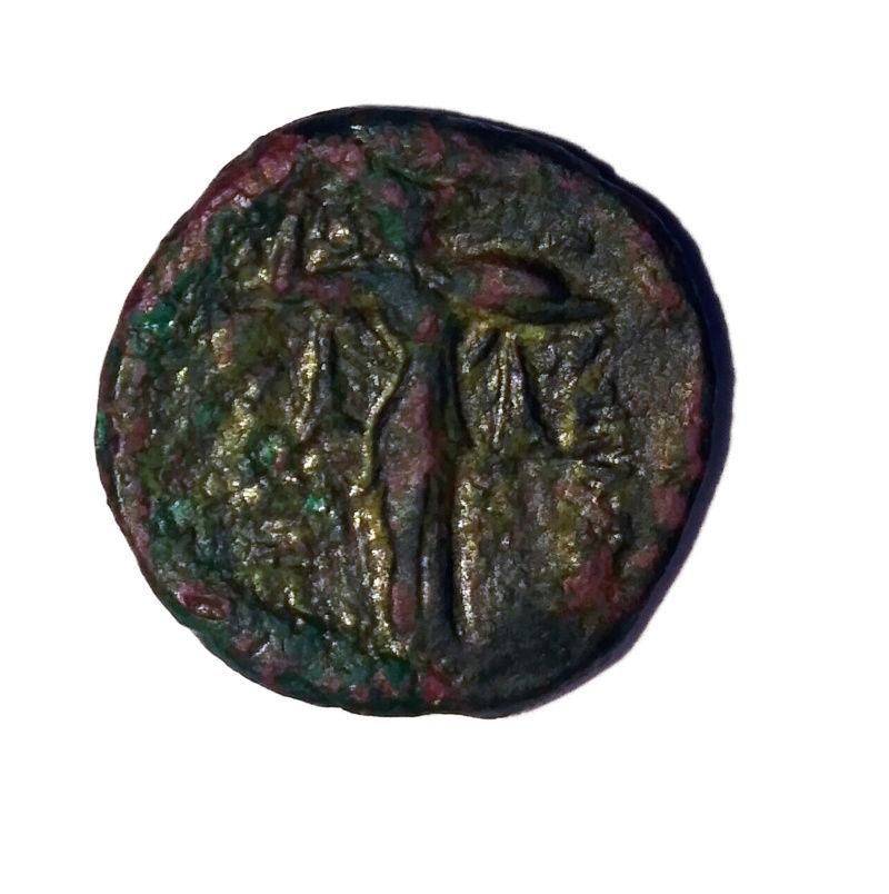 Bronze de Macédoine pour Démétrios Poliorcètes ... Myster10