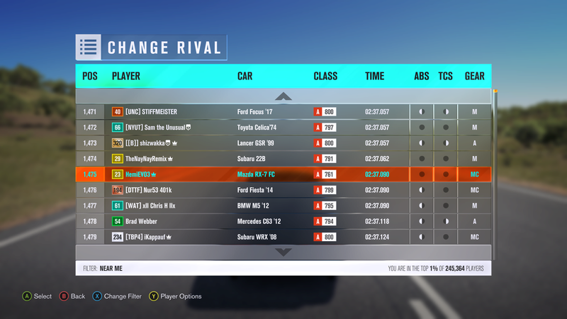 (FH3) The Tramline Sprint (Results Up!) Screen10