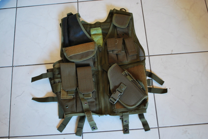 [VENTE] ACCESSOIRES AK / Tenue vegetato / M-PACT Mechanix- Multicam / MP5 Cyma / M4 / Ak74u / Beretta & stuff Dsc_0512