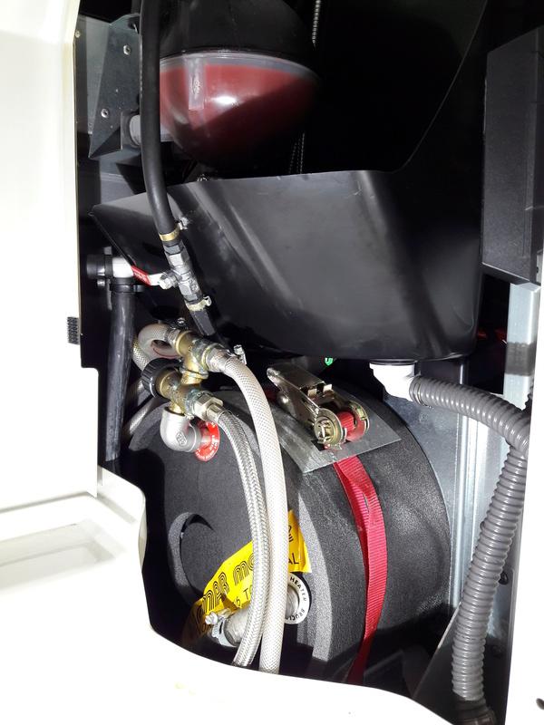 Panne chauffage auxiliaire Eberspacher D5W-Z Vannes10