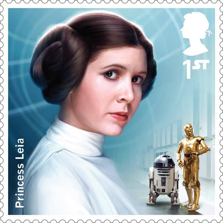 "Carrie Fisher - Prinzessin Leia in ""Star Wars"" Bild1a11"