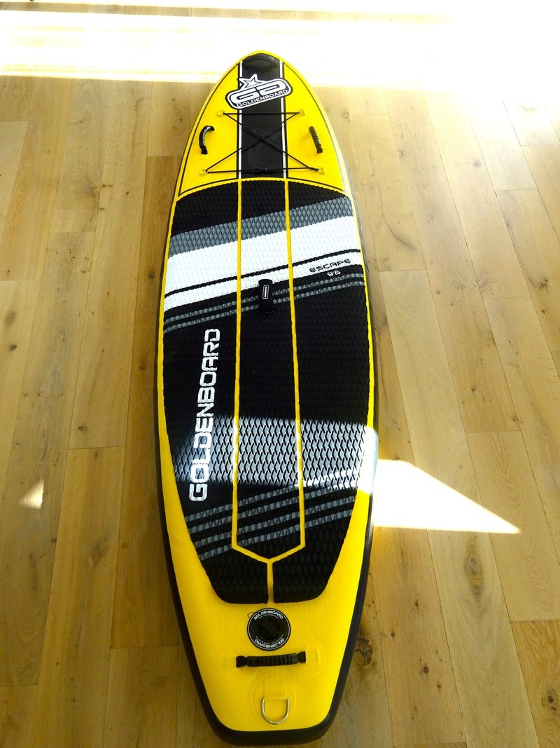 Pack Stand up paddle gonflable goldenboard 9'6  Dsc02519