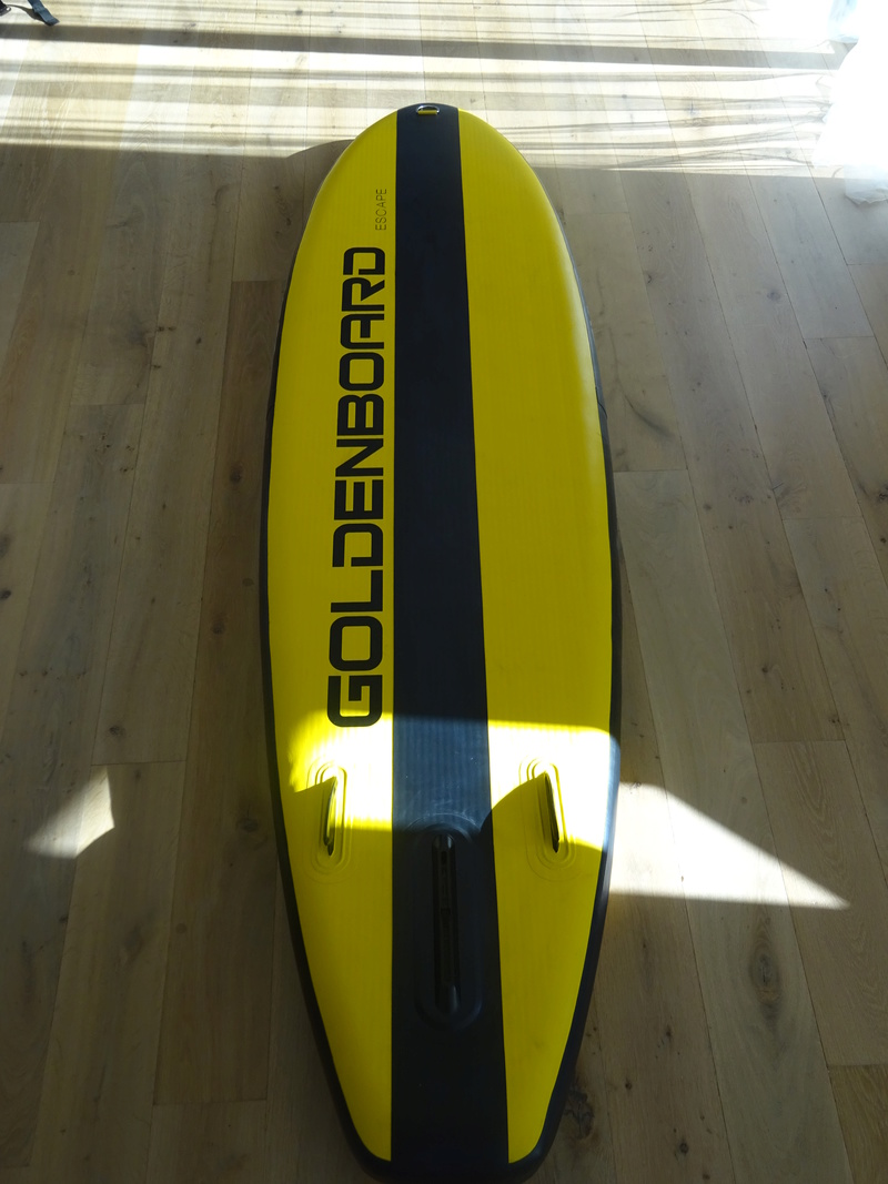 * Pack Stand Up Paddle GOLDENBOARD 9'6 gonflable * Dsc02520