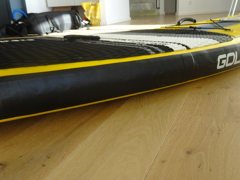 * Pack Stand Up Paddle GOLDENBOARD 9'6 gonflable * Dsc02523