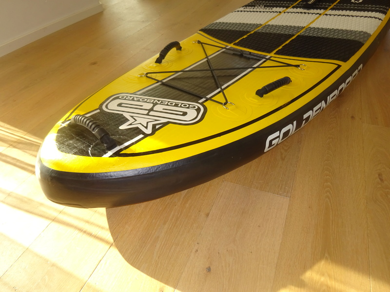 * Pack Stand Up Paddle GOLDENBOARD 9'6 gonflable * Dsc02524