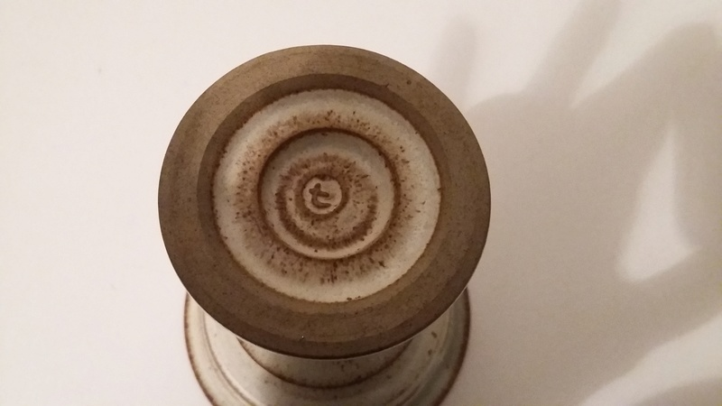 Pottery Goblets with Unidentified Mark 20161111