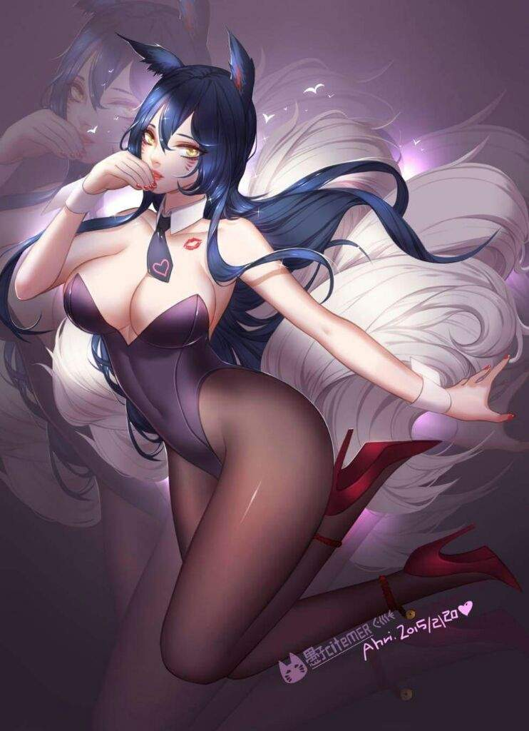 Ahri the Kitsune Ahri_b11
