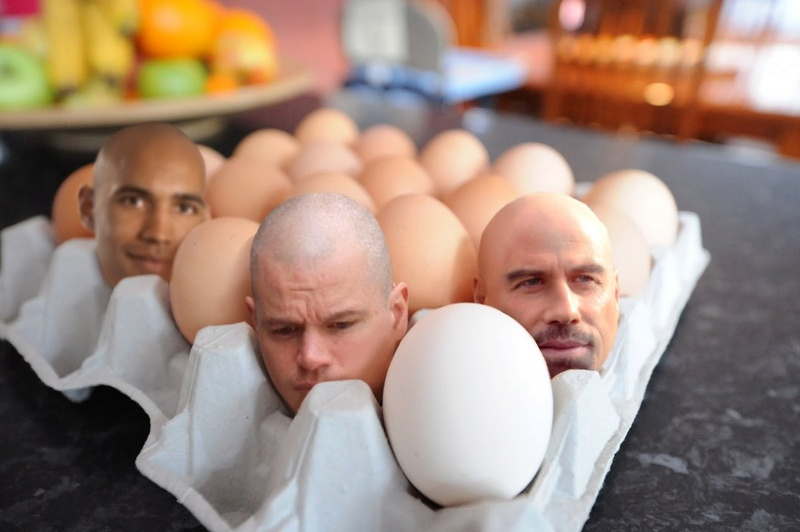 How to create big heads in an egg tray 1010